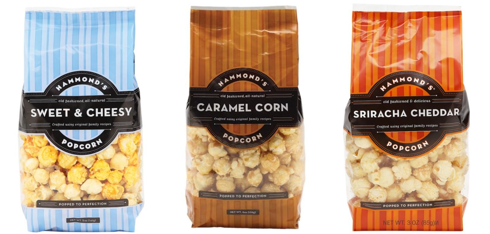Hammond's Sweet and Cheesy Popcorn