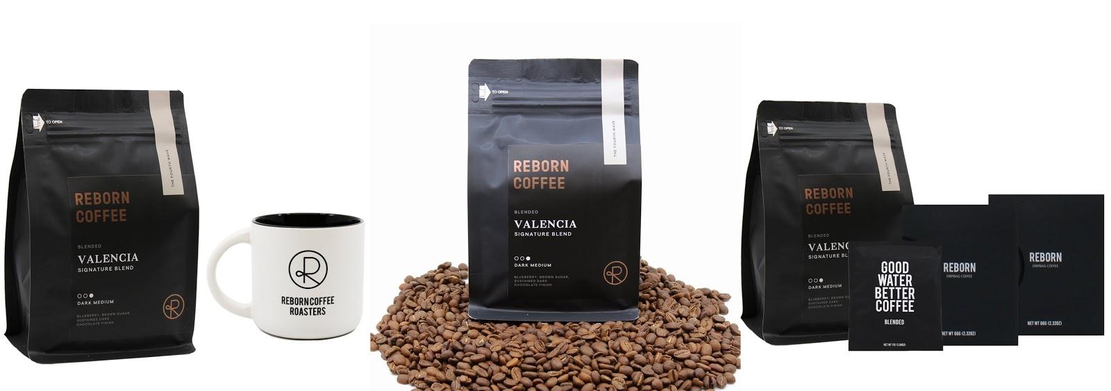 Reborn Coffee House Blend Coffee Bean in Valencia