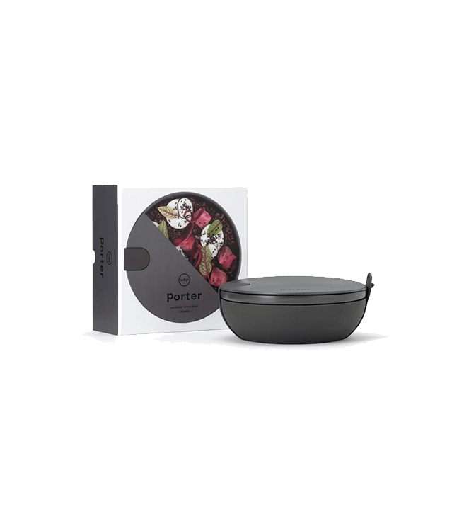 W&P Design Porter Bowl Ceramic - Charcoal