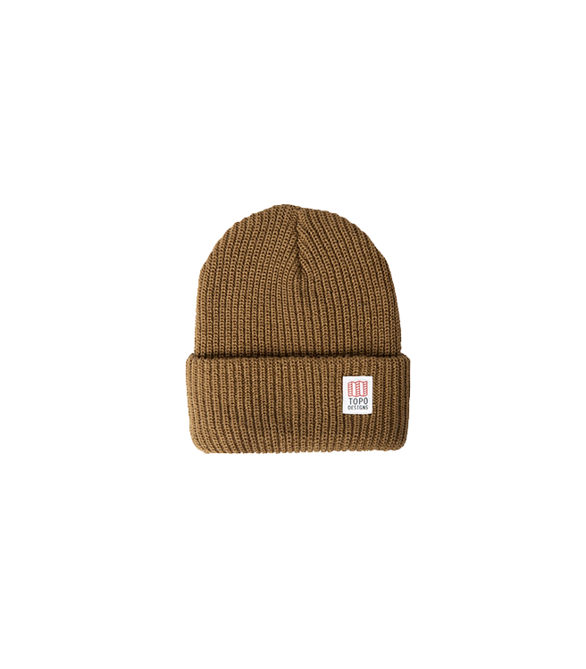 Topo Design Watch Cap - Coyote