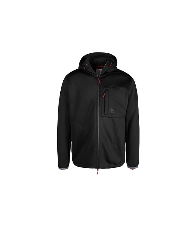 Topo Design Tech Fleece Hoodie - Black