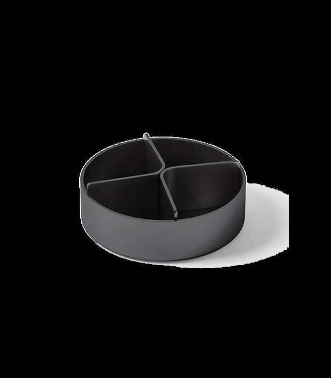 Lexon City Desk Tray - Metallic Grey