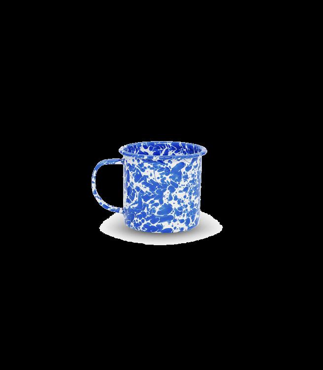 Crow Canyon Home Splatter 12 oz Mug - Blue Splatter