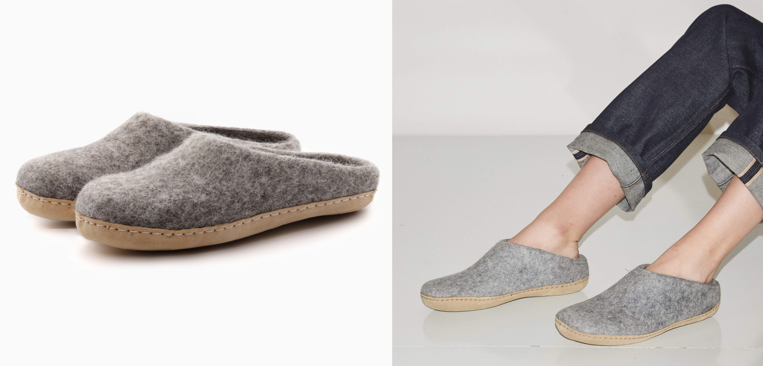 Wool House Slippers