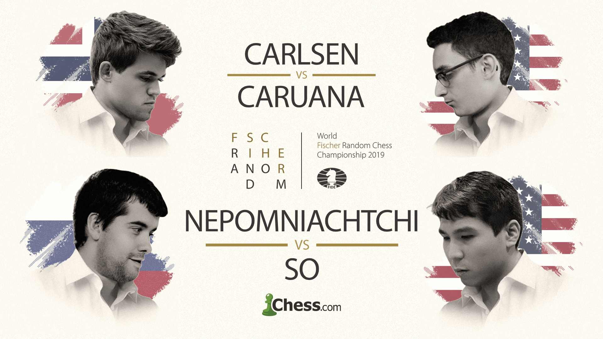 Fischer Random World Championship Pairings