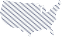 map of US icon