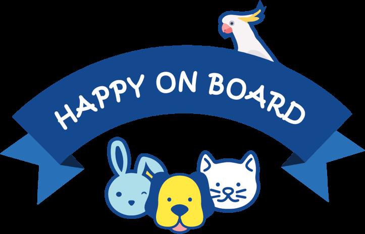 Happy On Board Logo
