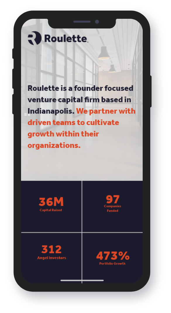 Roulette Mobile Website