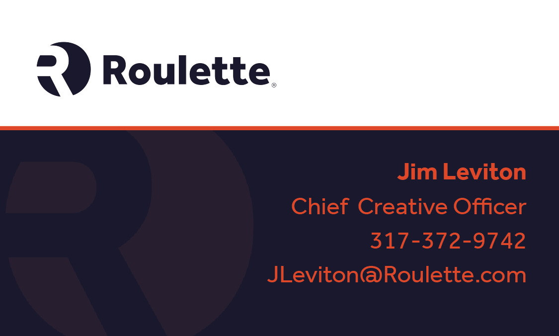 Roulette Business Card
