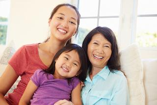 A family smiles | General Dentistry Dee Why NSW