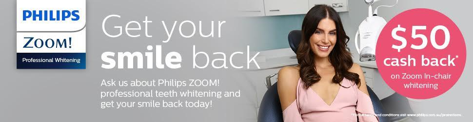A Zoom! Teeth whitening special banner | teeth whitening dee why nsw