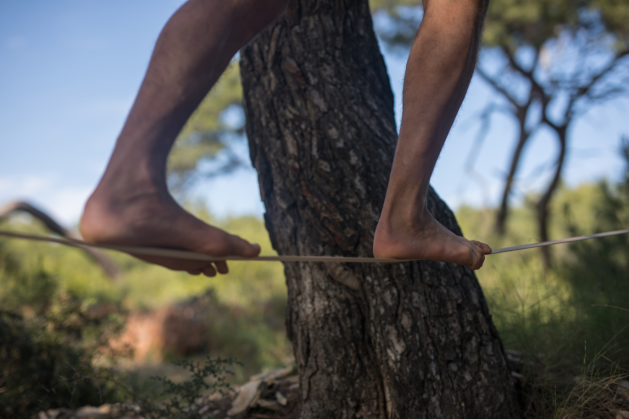 Learning to Slackline