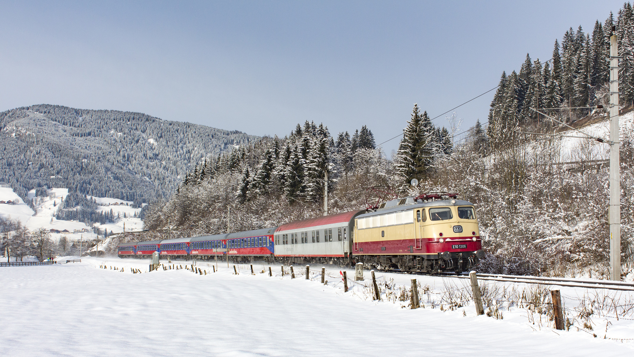 Train travel in Austria