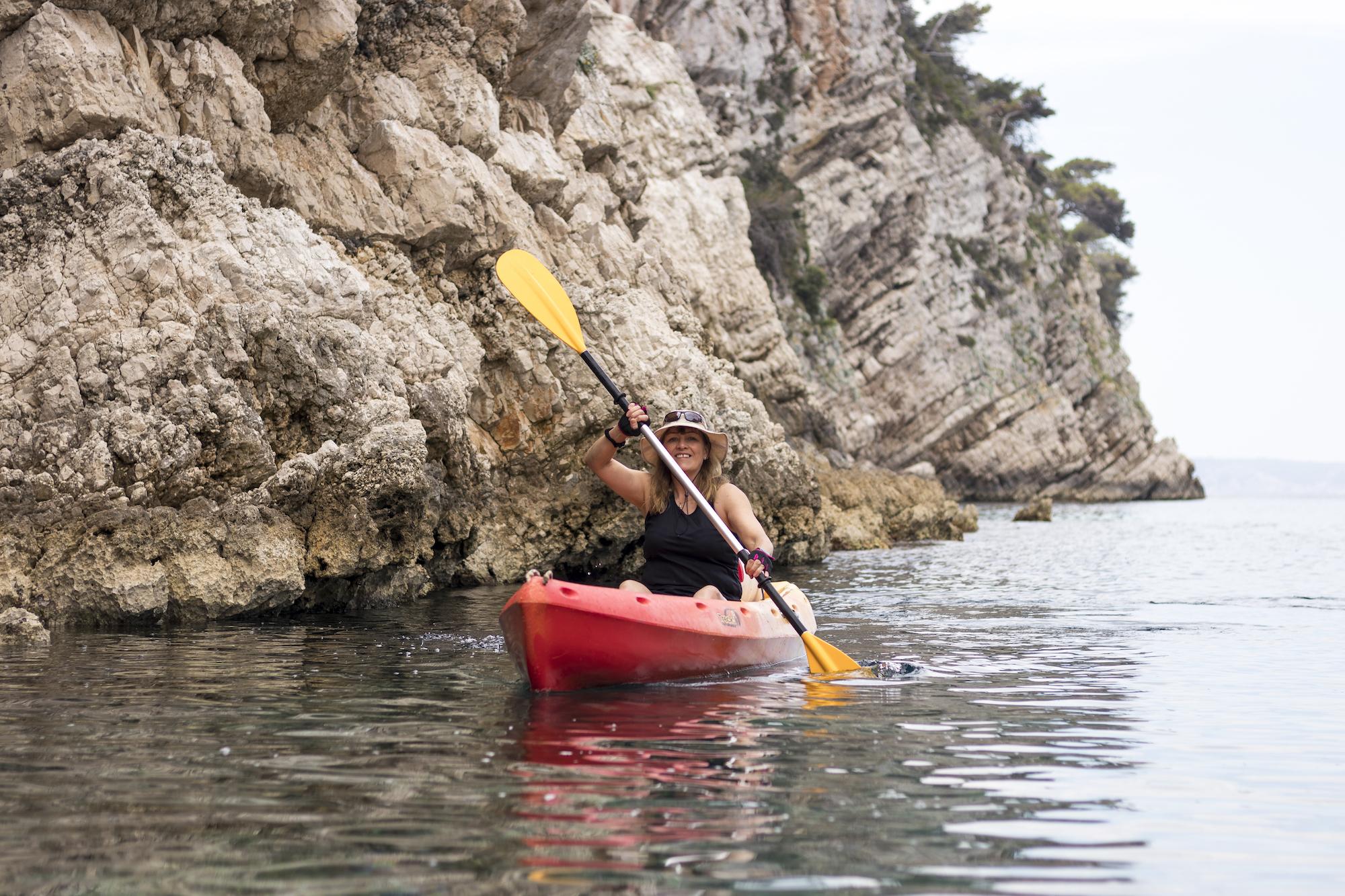 kayak vis island croatia