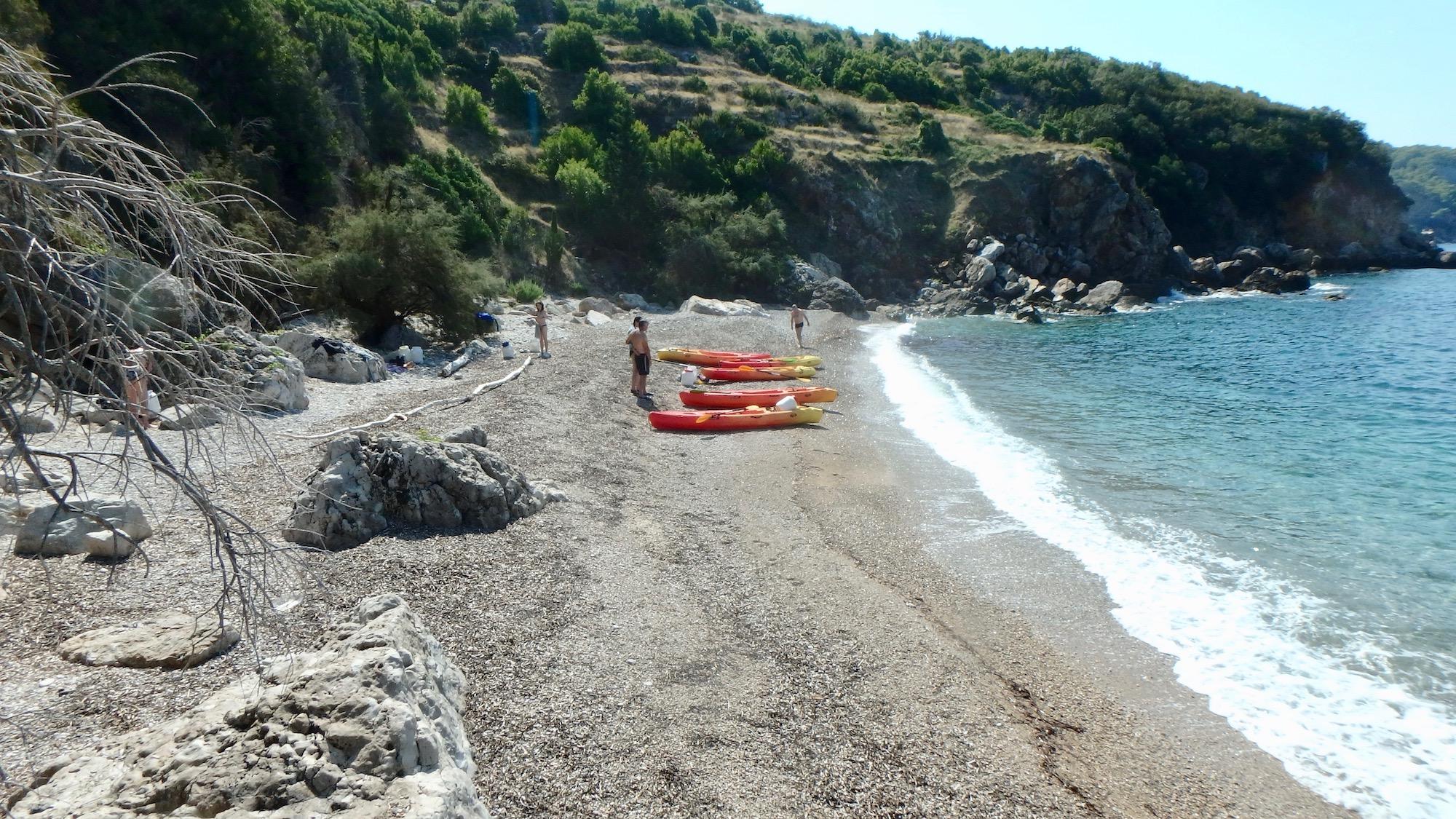 isolated hidden beaches Croatia