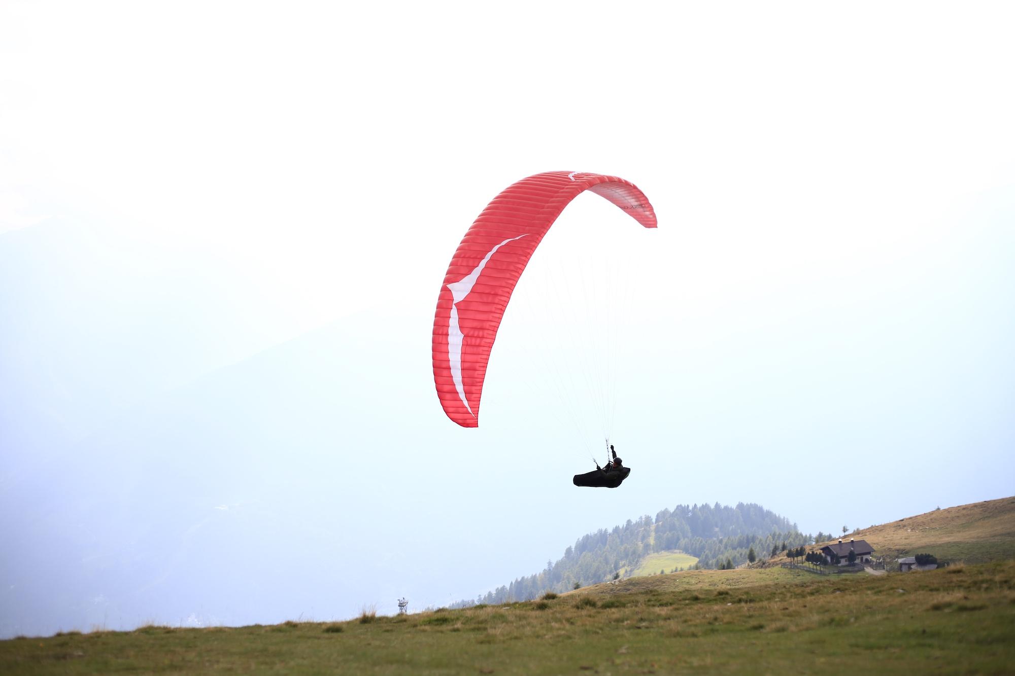 paraglide East Tirol Austrian Alps