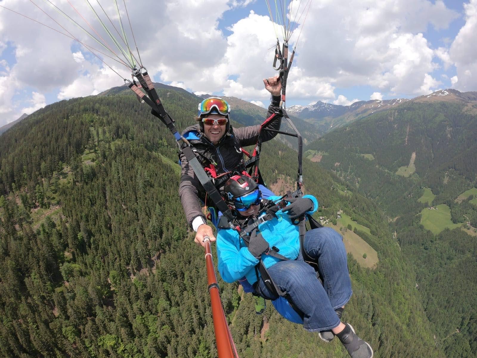 Paraglide with Airtime Austria, Lienz