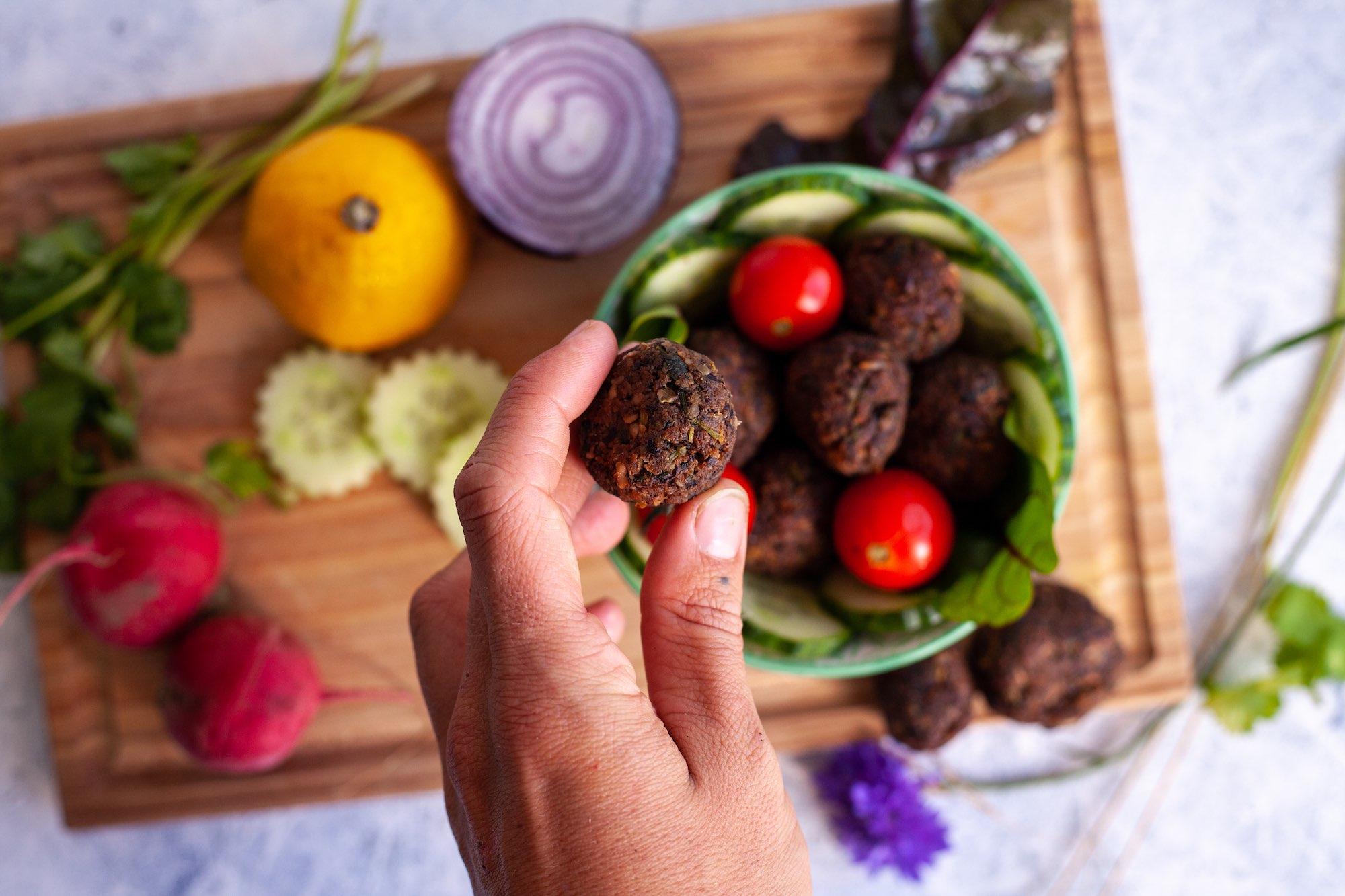 falafel plant based meals