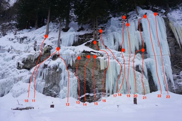ice climbing Matrei East tirol Austria
