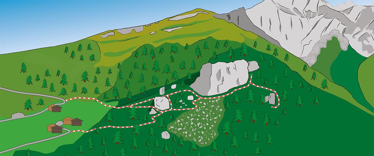 Falkenstein climbing East tirol