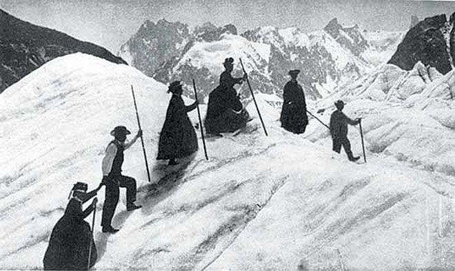 Lily Bristow Alpine Climber