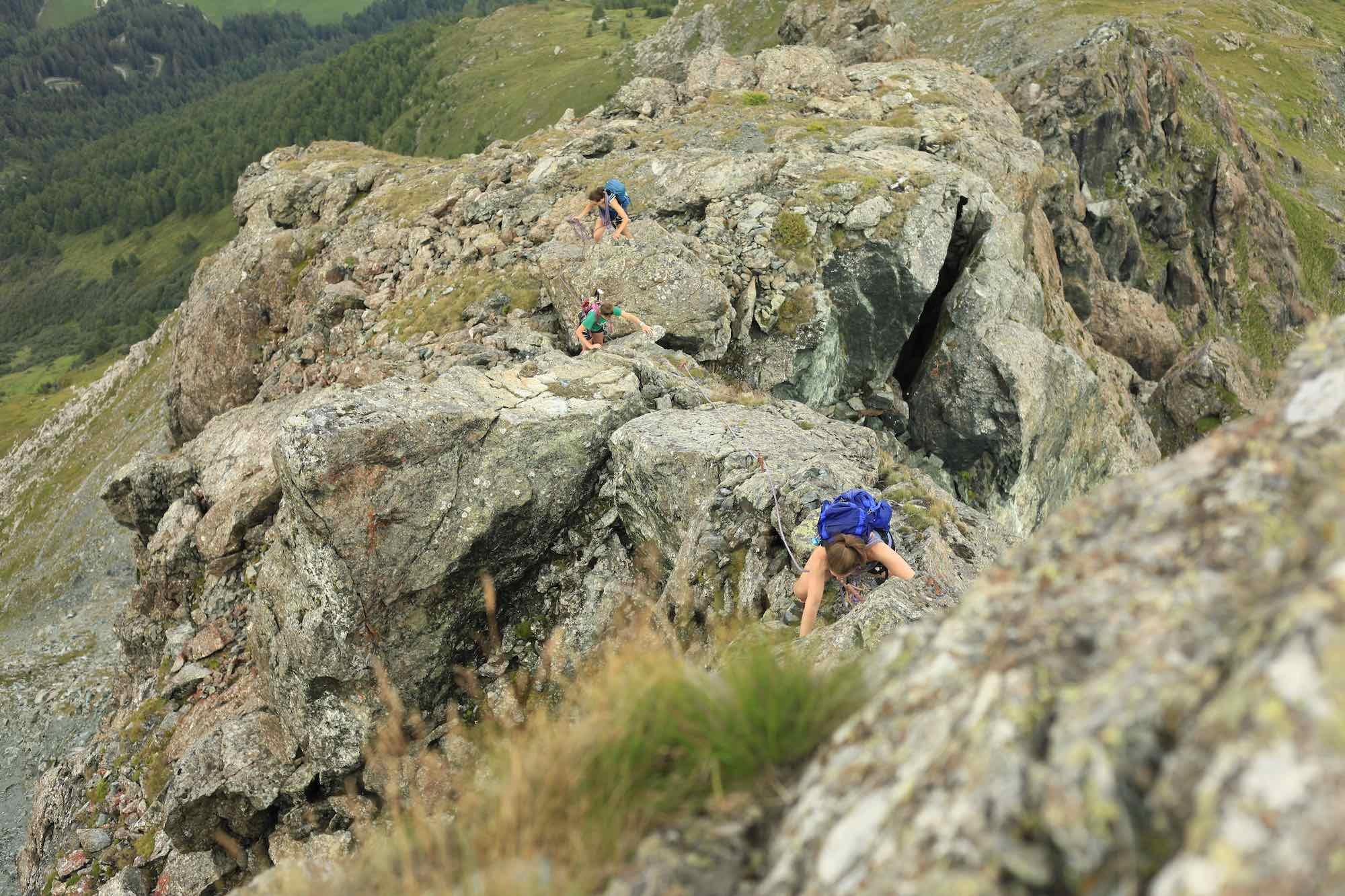 Climbing in Kals Am Grossglockner