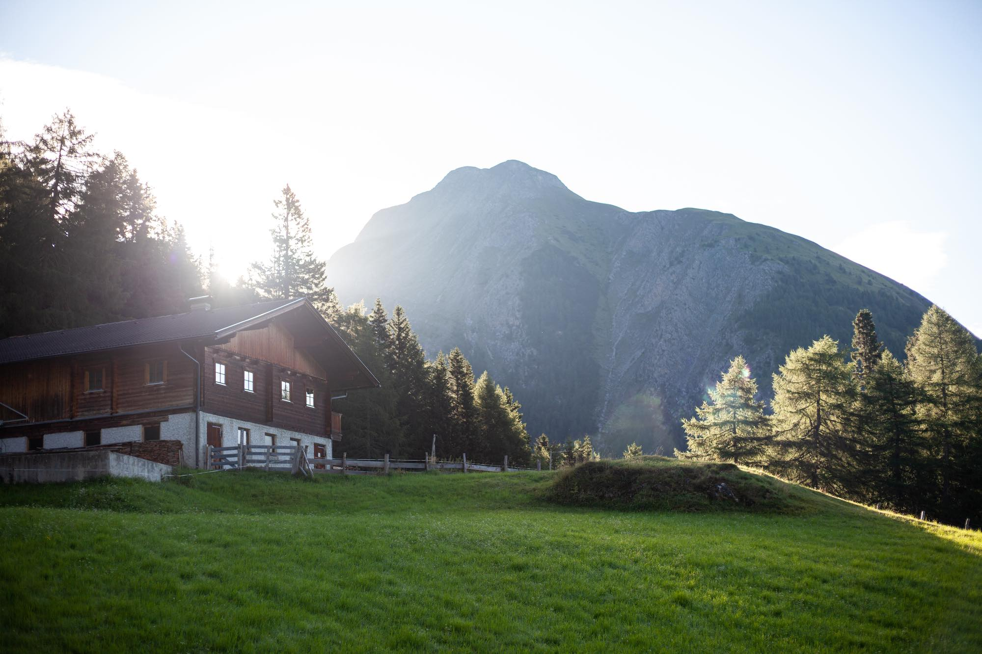 Austrian Mountain view Hohe Tauren National Park