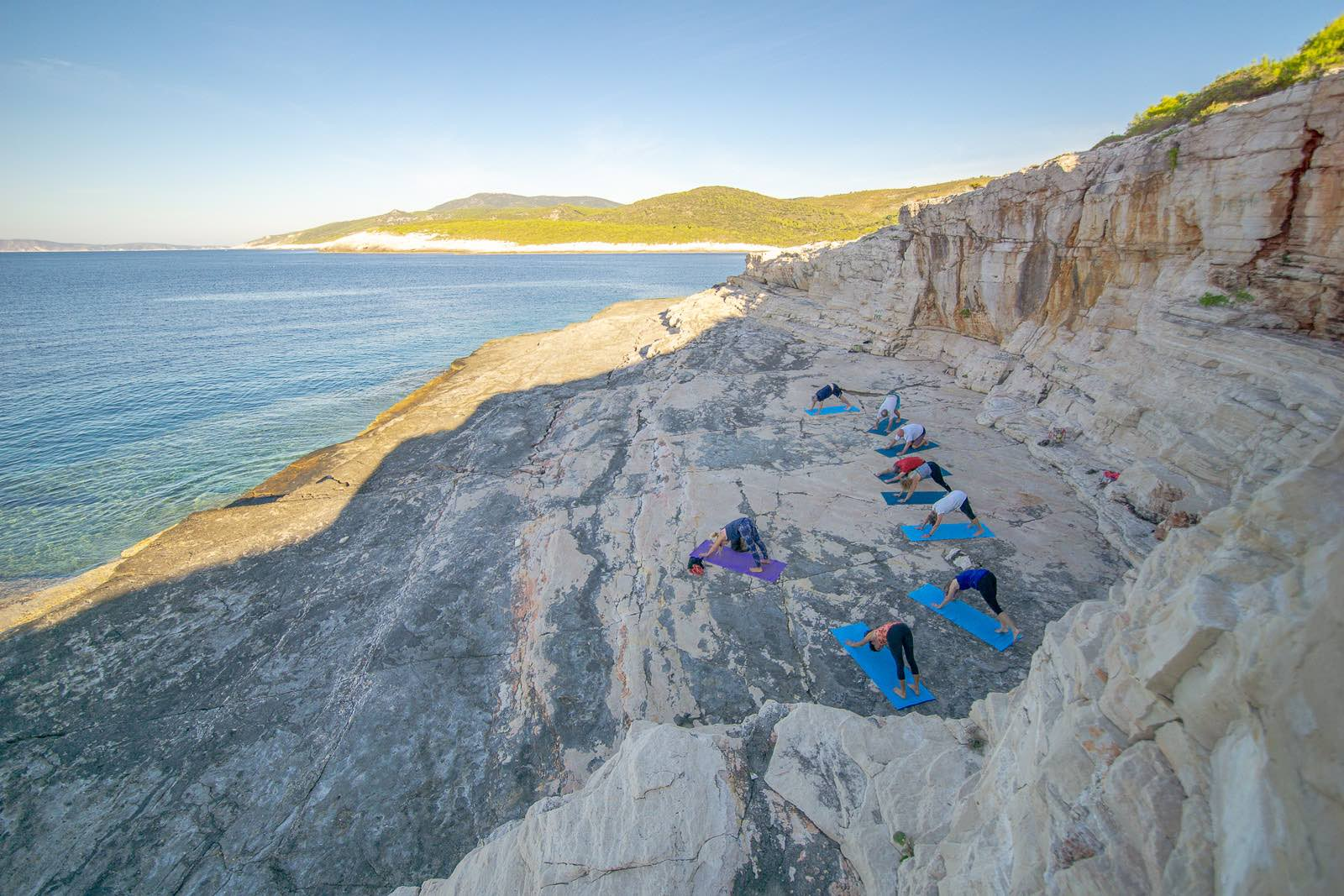 Vis Island Yoga Srebrana Croatia
