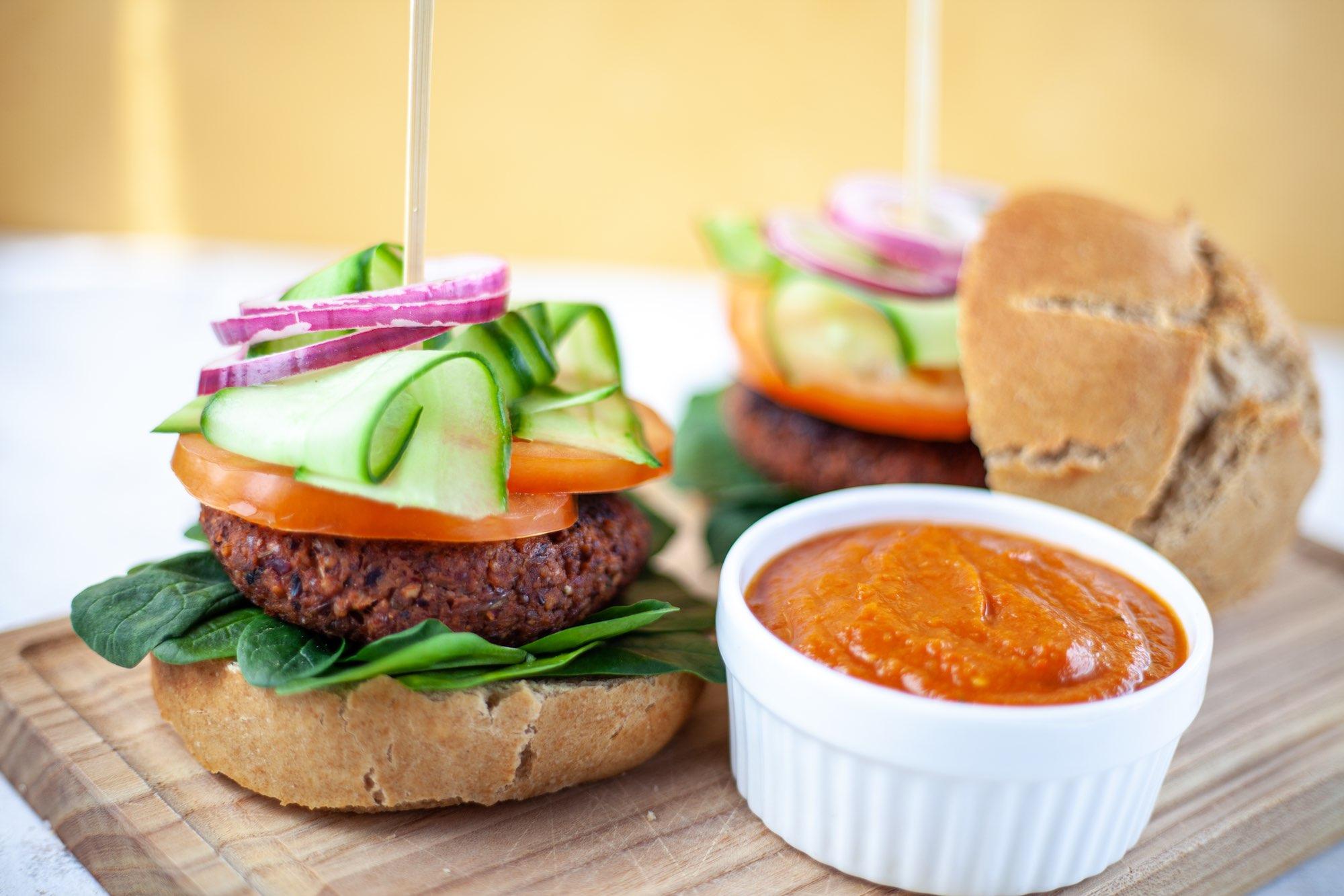 Ultimate Vegan Burger