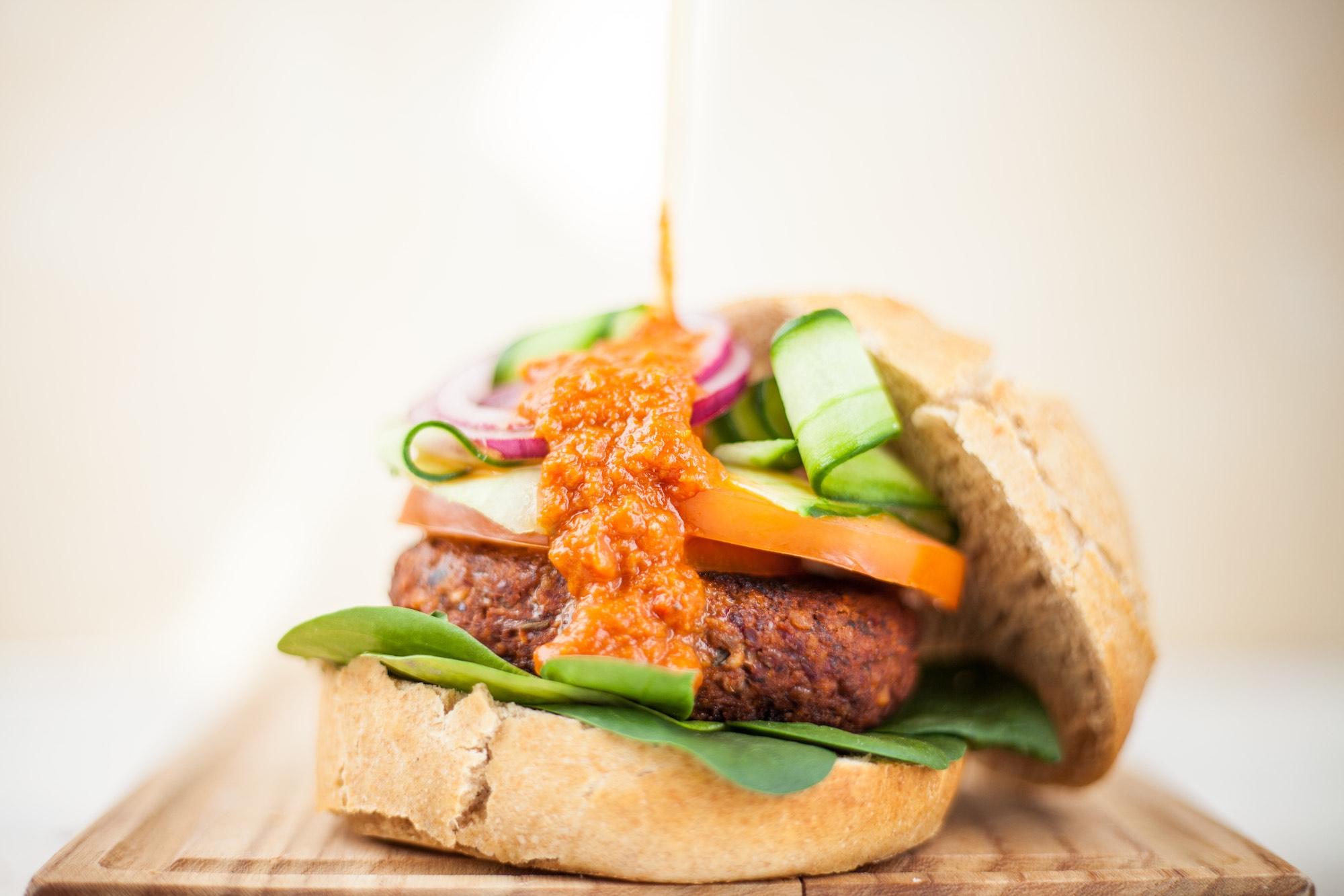 Vegan BlackBean Burger
