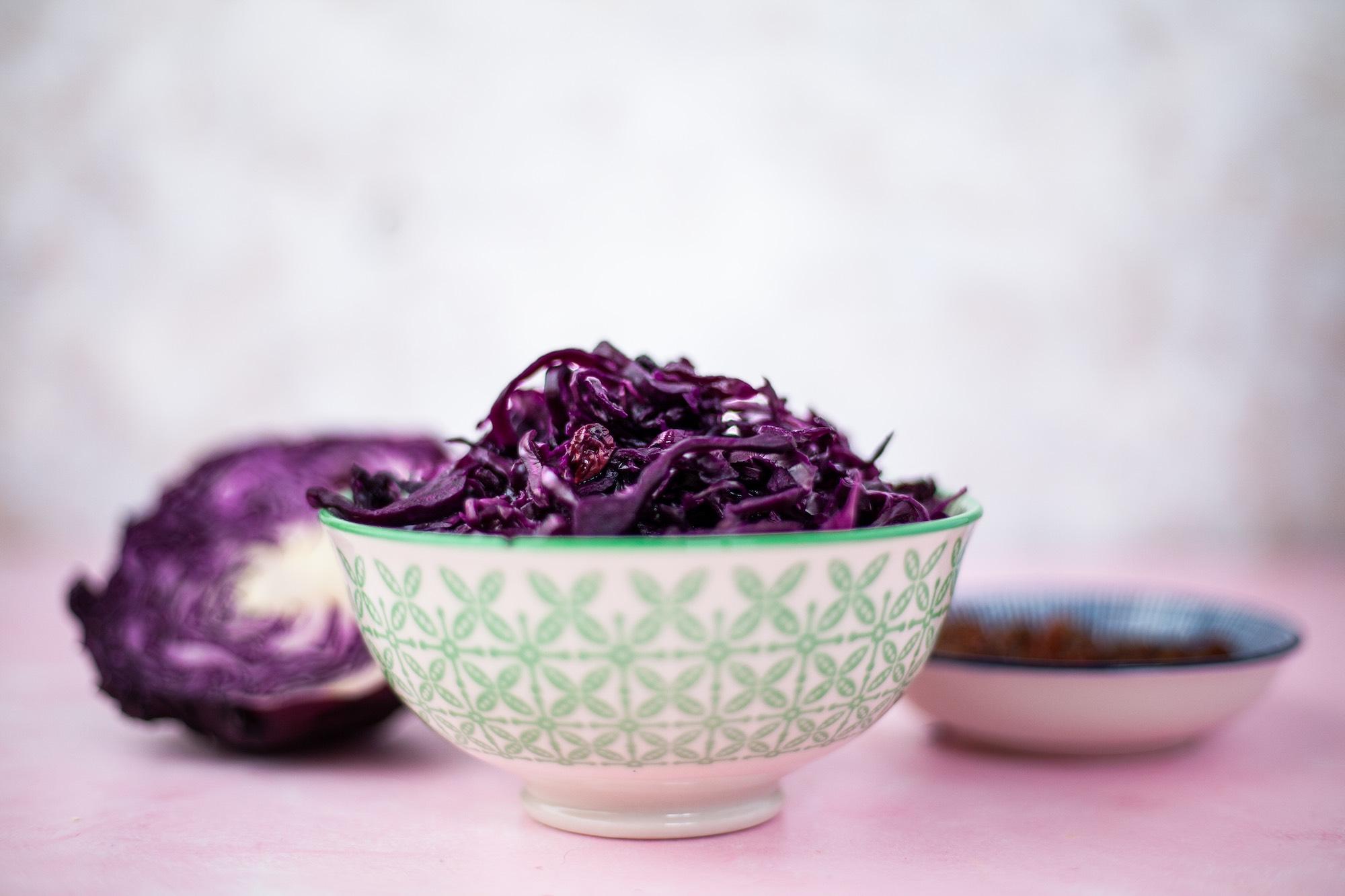 red cabbage sauerkraut
