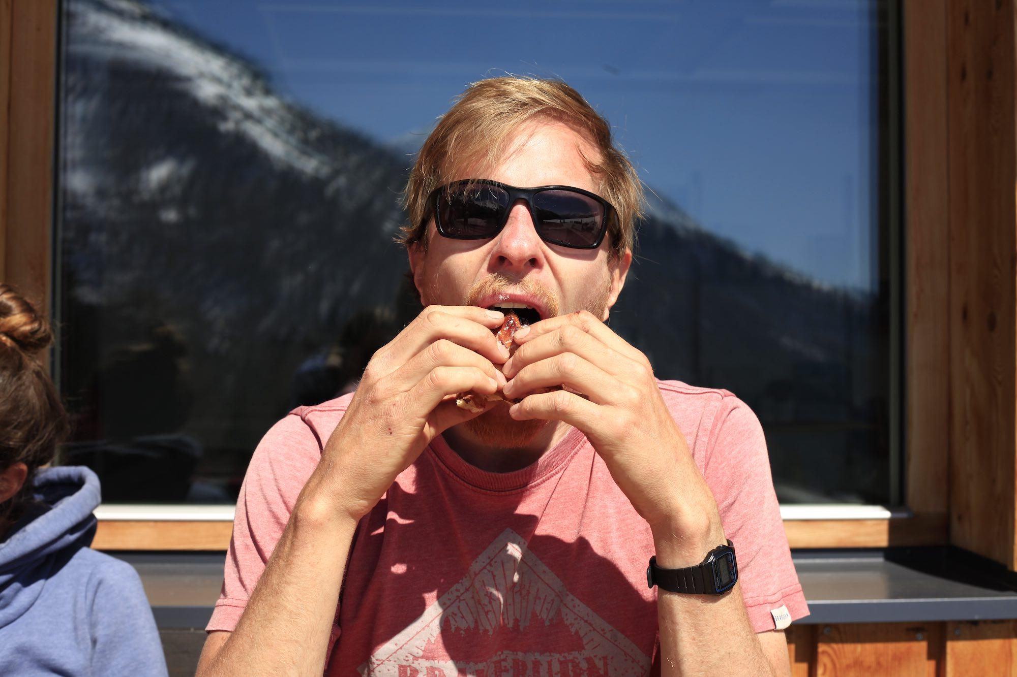 Vegan BBQ in Austria at MoaAlm Mountain Retreat