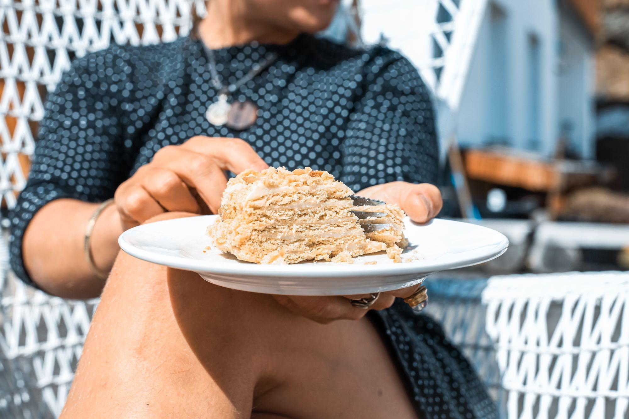 Vegan Lithuanian Yoghurt Cake
