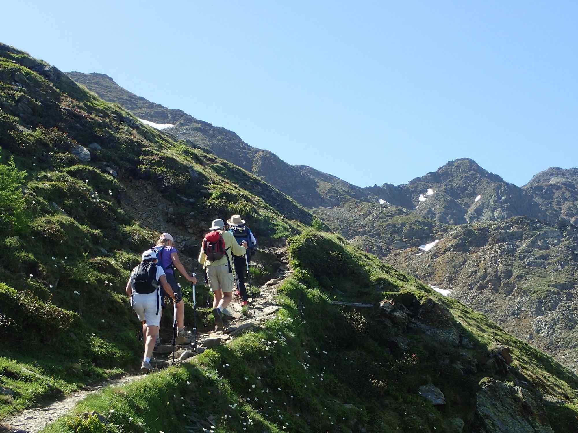 Hiking Figerhorn to Lucknerhaus