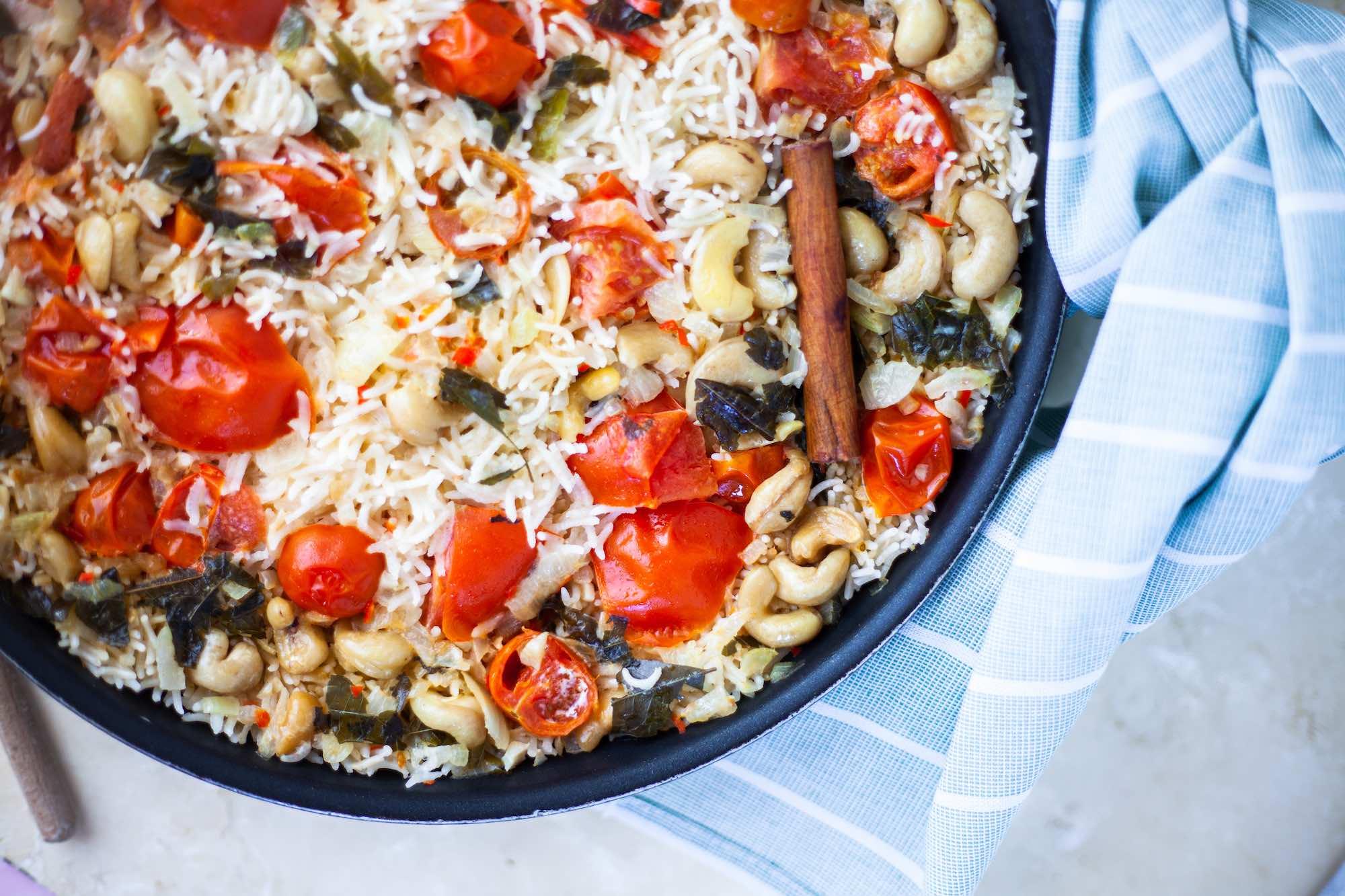 Summer Tomato Pilau