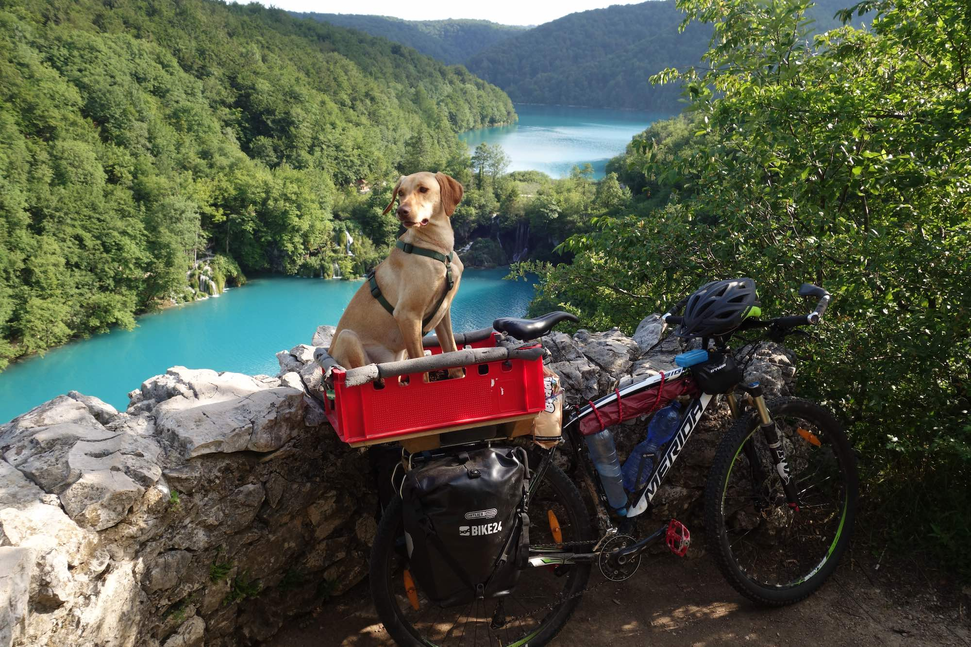 Biking from Austria to Croatia