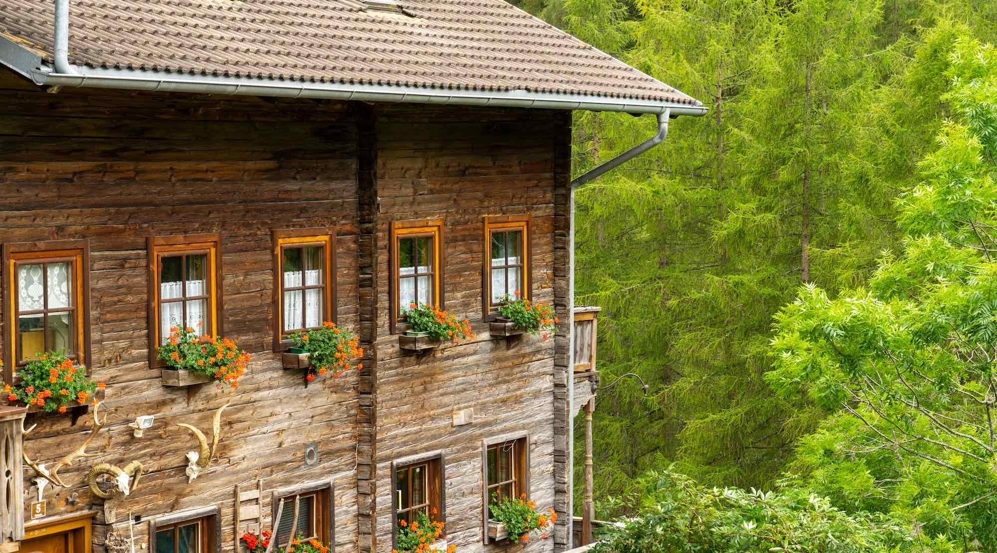 Traditional Austrian House, Kals Am Grossglockner