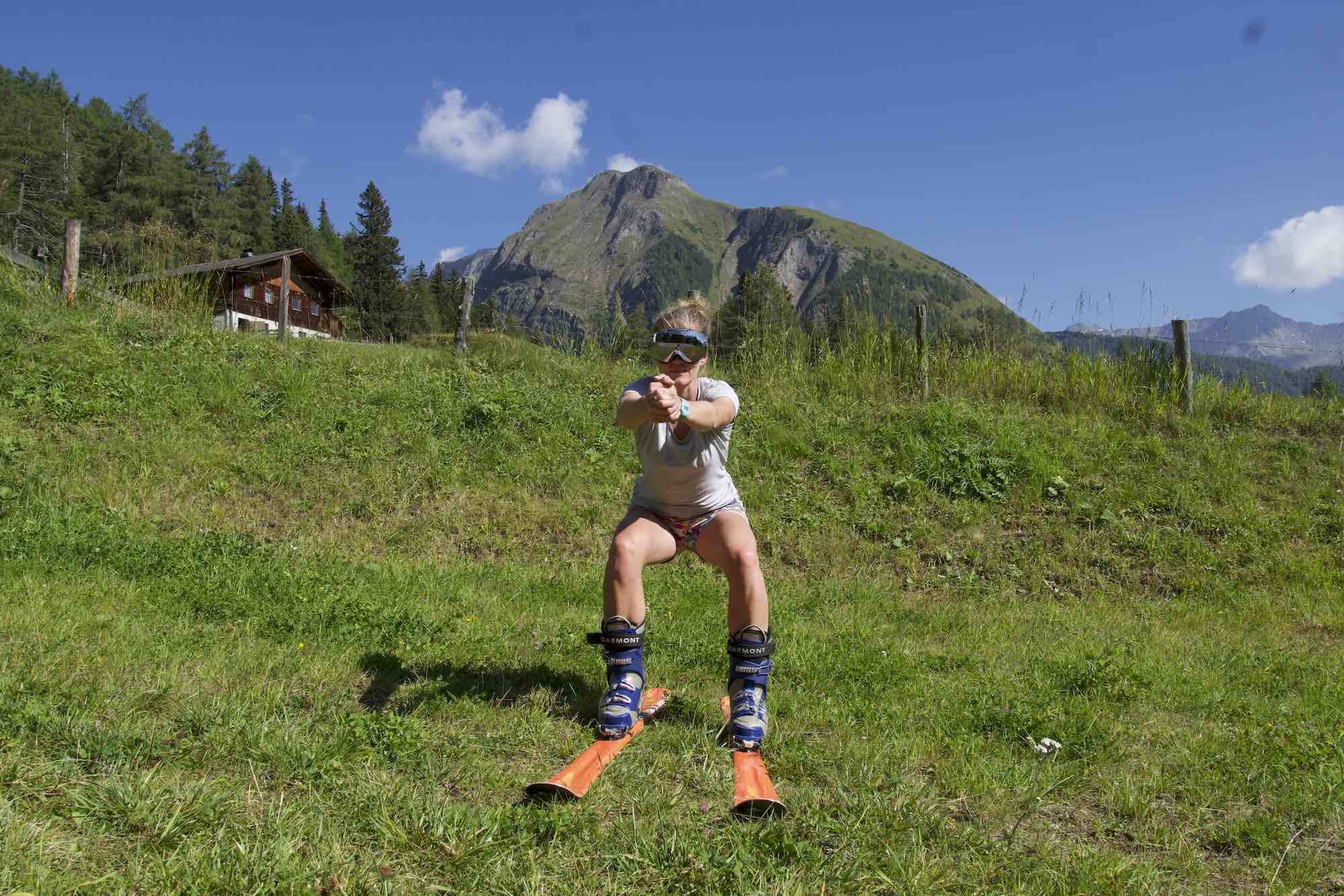 Body Weight Squat, fitness for skiing