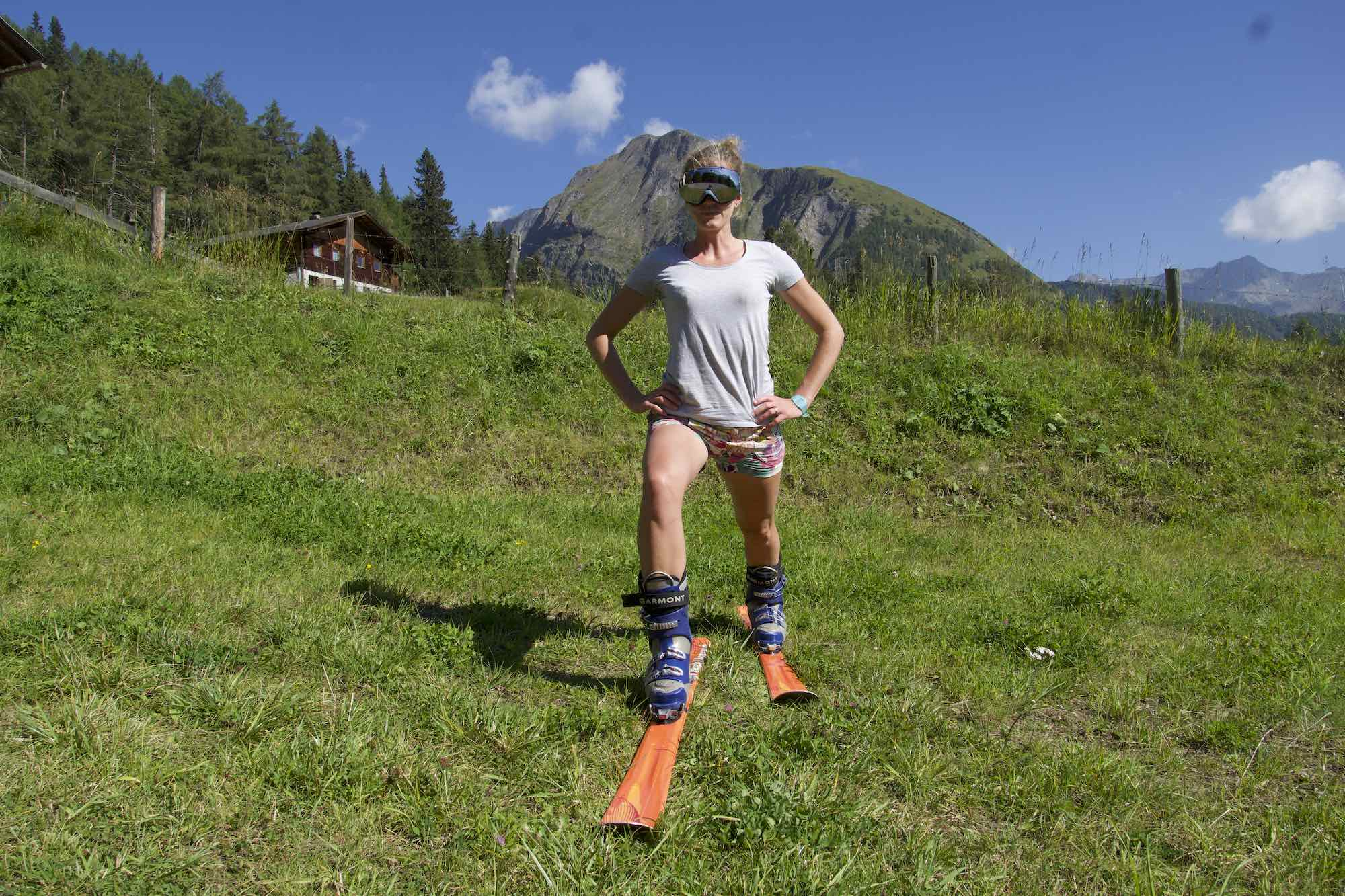 Jumping Lunge, Fitness for Skiing