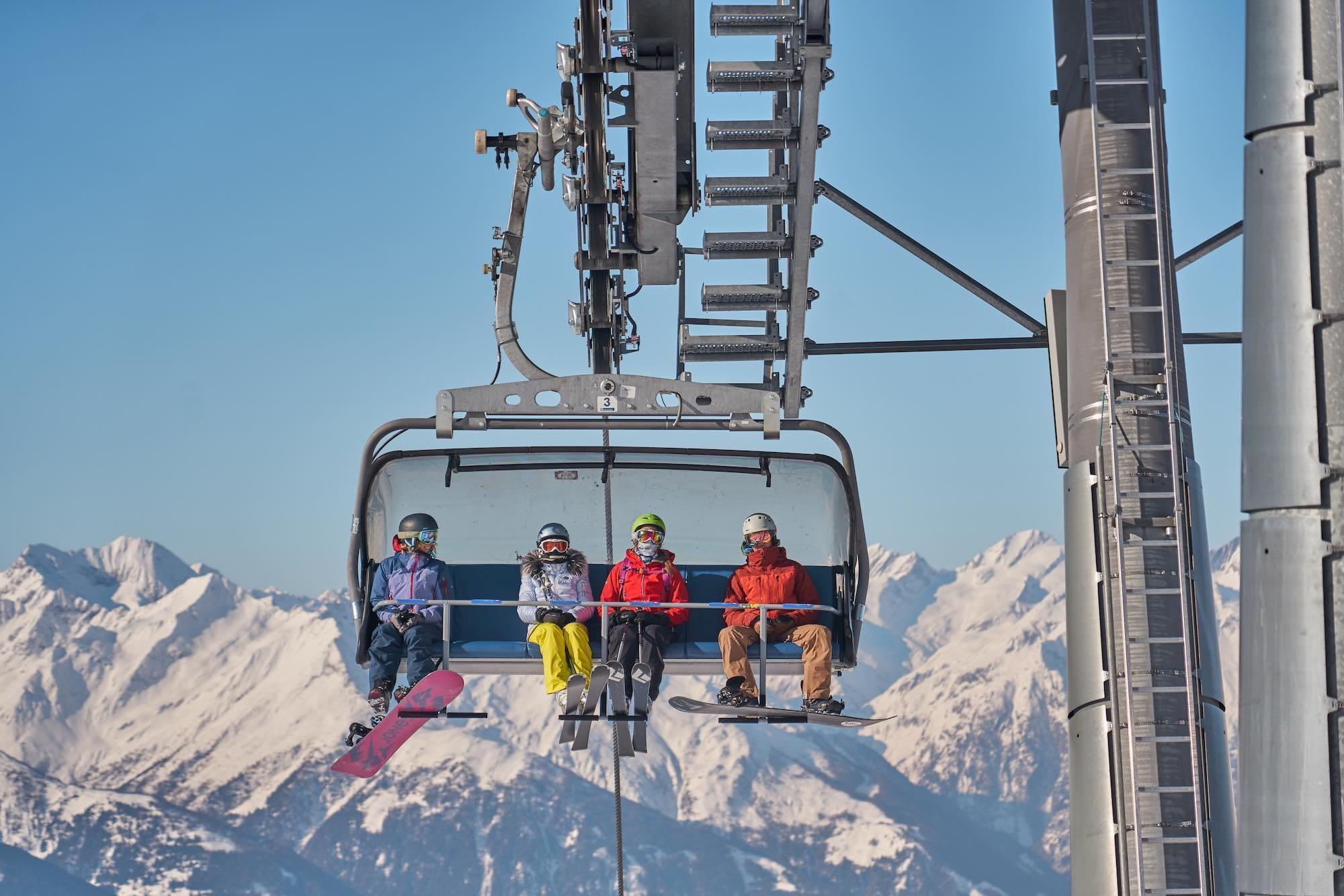 Ski Lift in the GG resort Austria