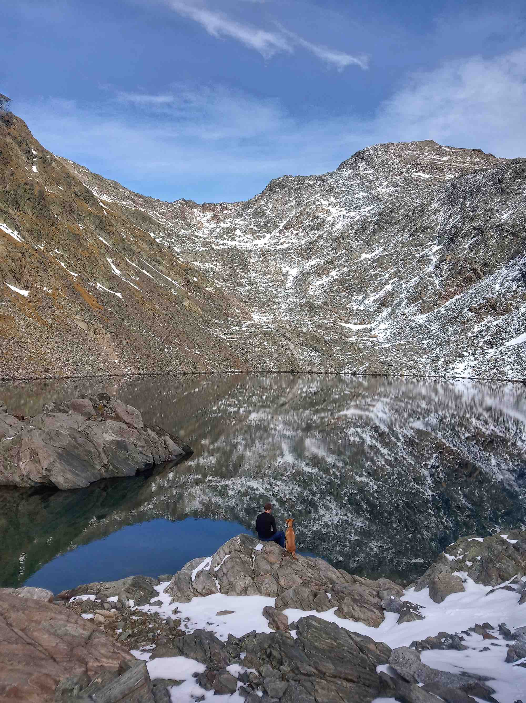 An Alpine Lake in Hohe Tauren National Park