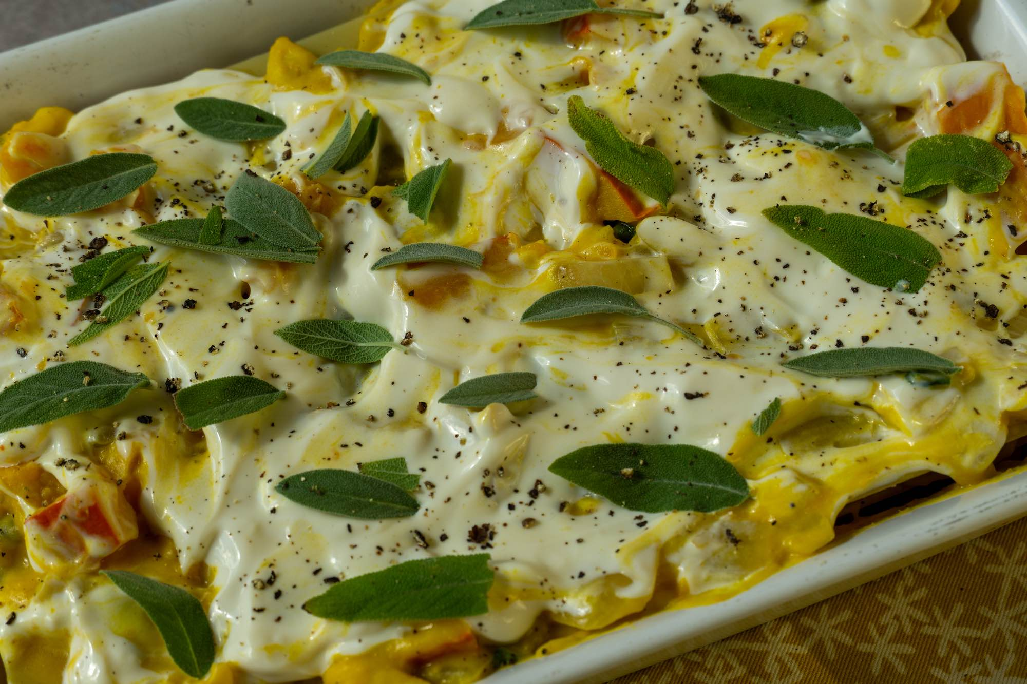 Pumpkin Lasagna with Sage