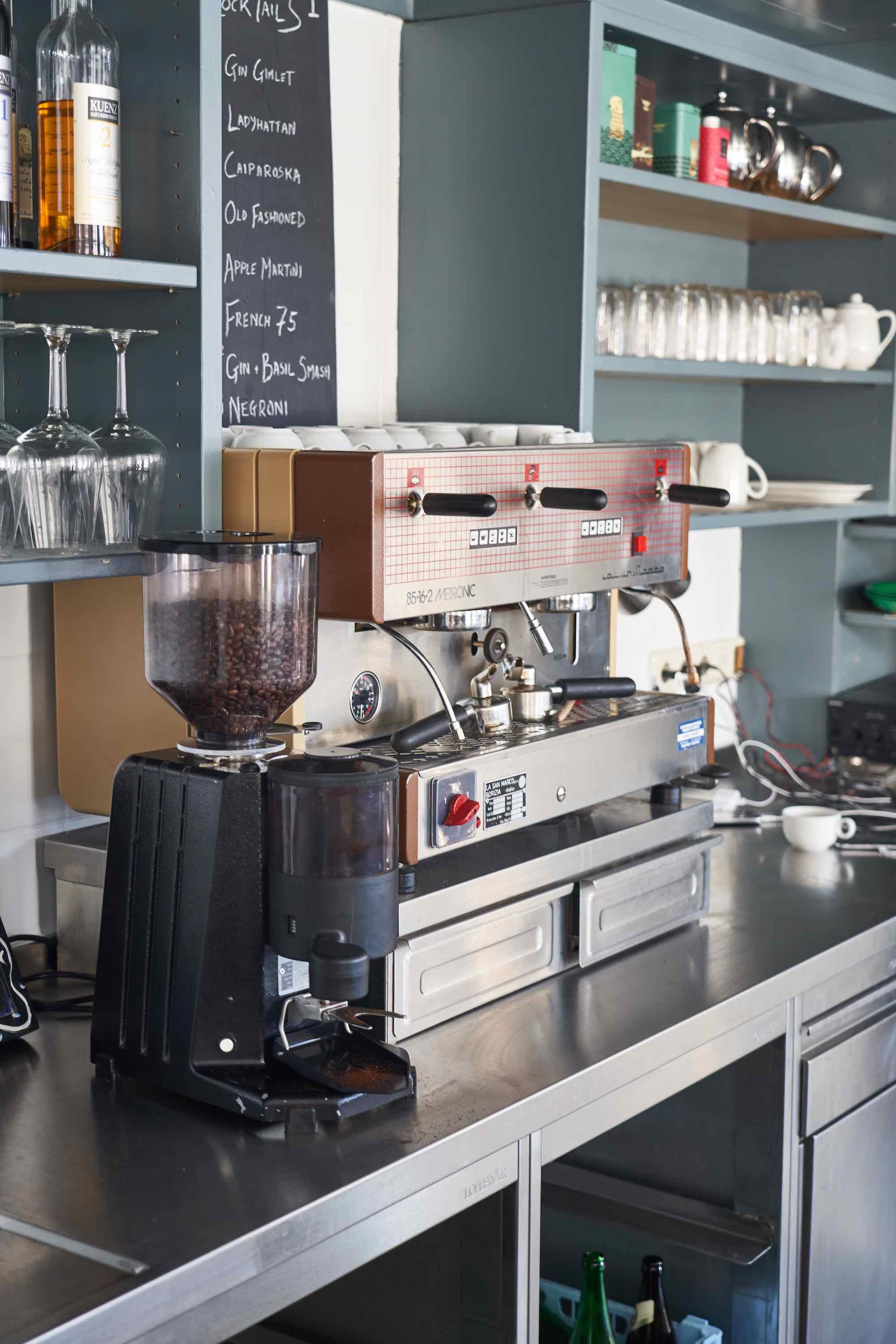 Coffee at MoaAlm Mountain Retreat