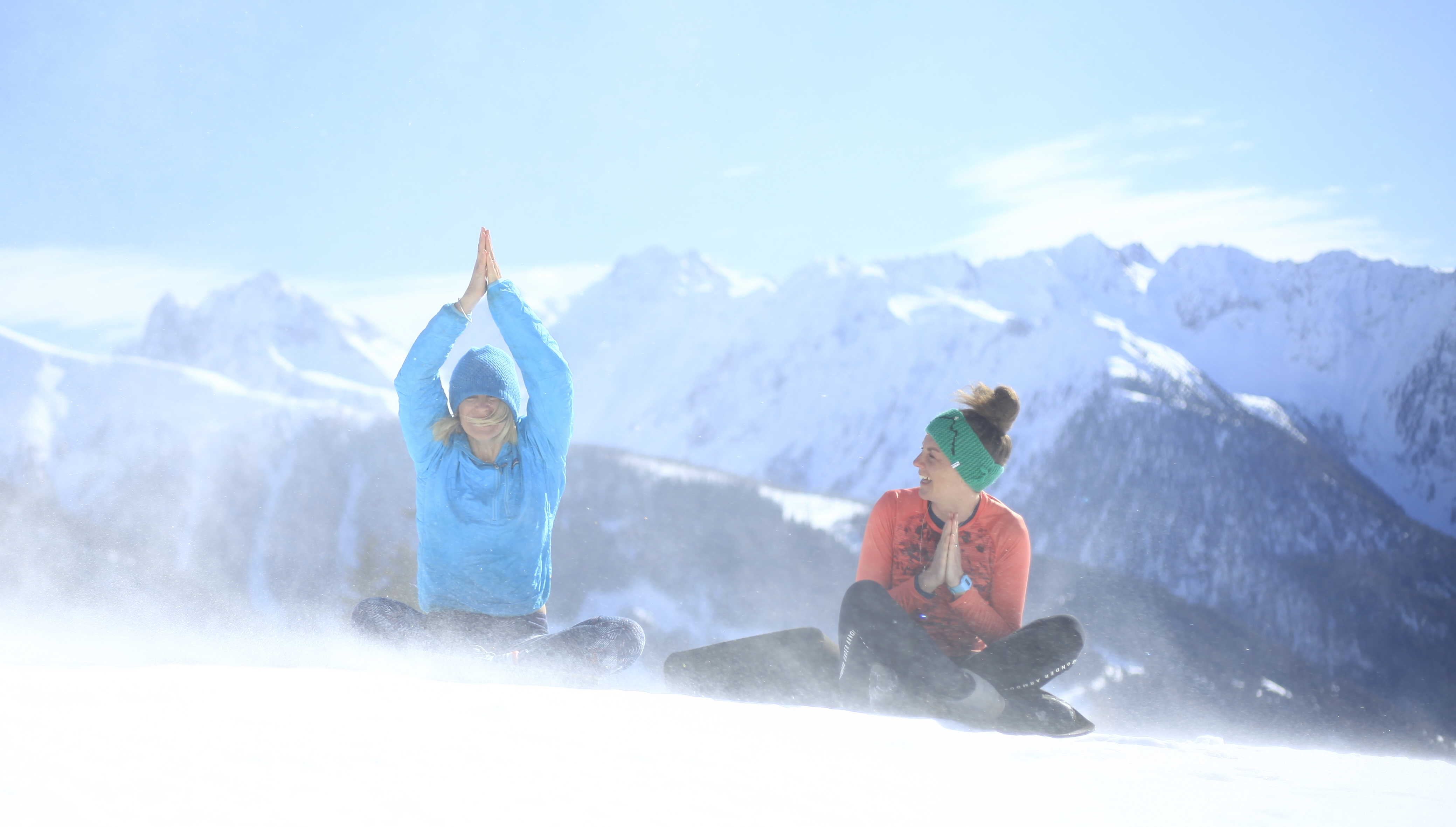 Yoga and Snowshoe Holiday, MoaAlm Mountain Retreat