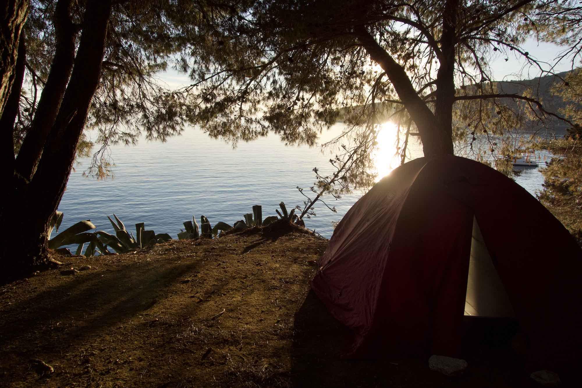 Camping in Kamenice Komiza
