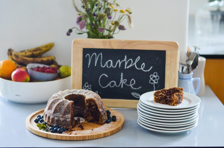 Vegan Marble Cake at MoaAlm Mountain Retreat