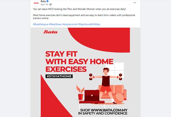 Bata Social Media Content Post 2020