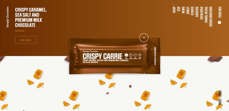 Premium Website Chocolate Bars