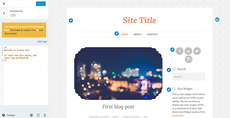 Problems With Website Templates