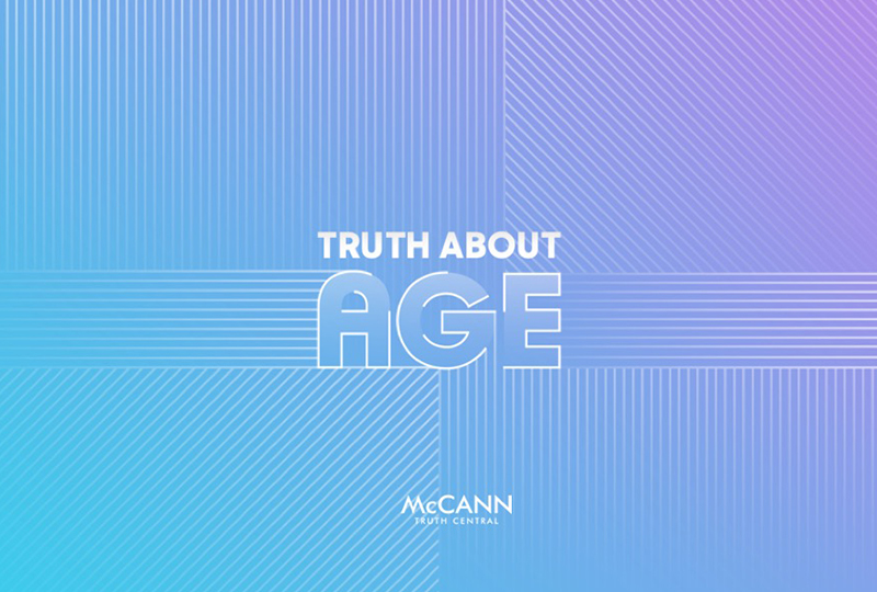 """McCANN Worldgroup launcht Studie """"Truth about Age"""""""